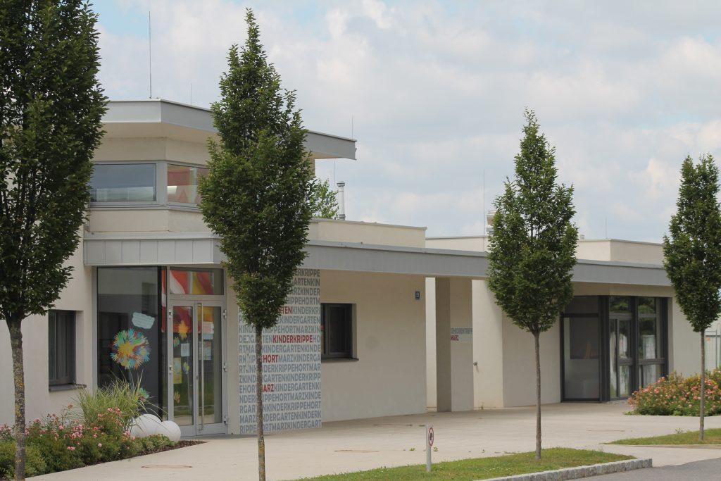 Gemeinde Marz KIGA+Seniorentreff Bild 1