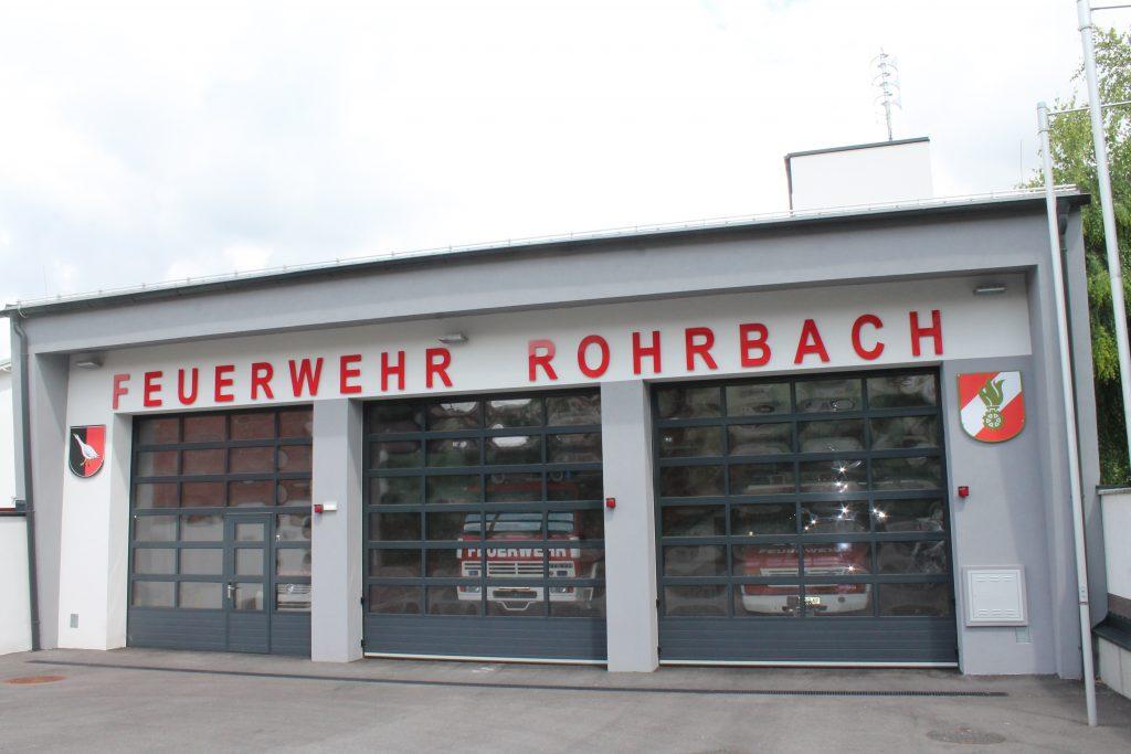 Marktgemeinde Rohrbach FF-Haus Bild 2