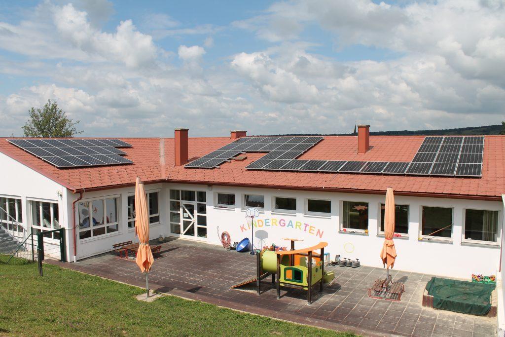 Marktgemeinde Rohrbach Photovoltaik-Anlage KIGA Bild 2